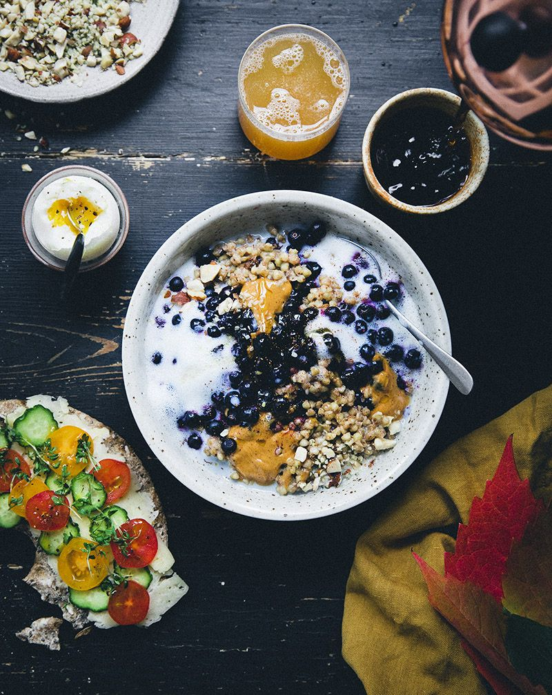 Healthy And Modern Vegetarian Family Recipes From Our Green Kitchen Check Out Our Inspiring Food Photo Breakfast Recipes Sweet Swedish Recipes Breakfast Bowls