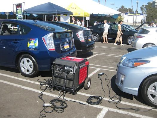 Generator Ing A Prius Ironic Isn T It