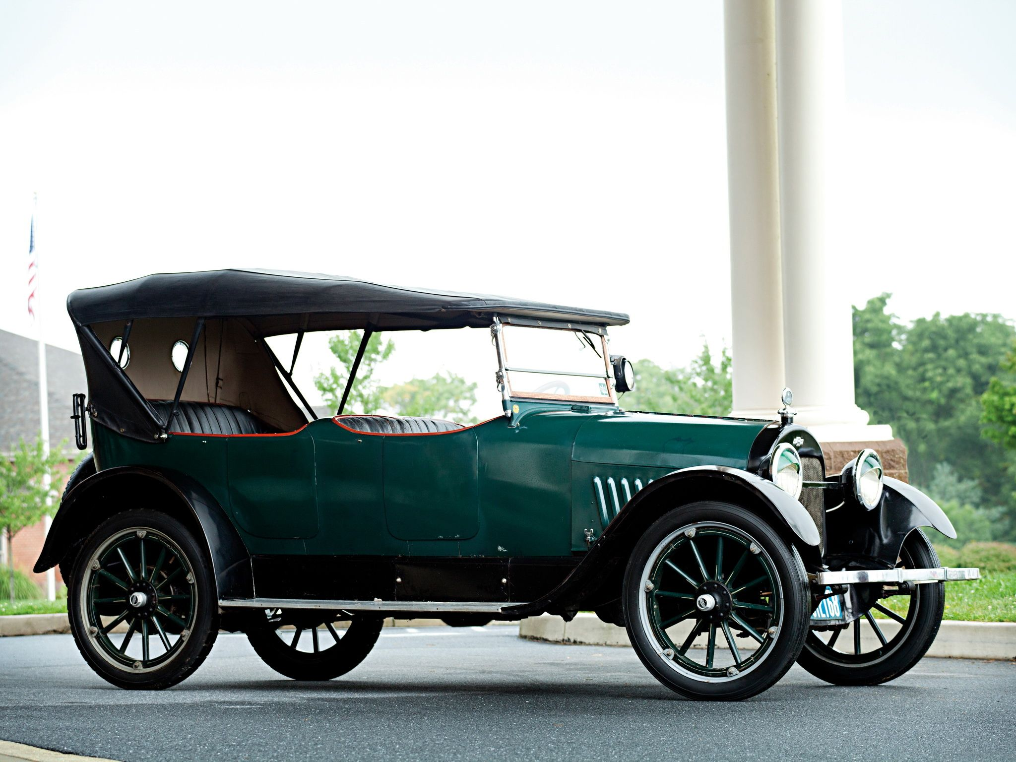 1918 Chevy Series D Touring. 288 cubic inches, 36hp, V8.