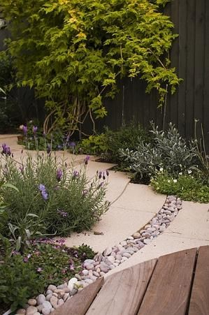 Garden path by Mayline Outdoor Design ideas Pinterest - peinture terrasse beton exterieur