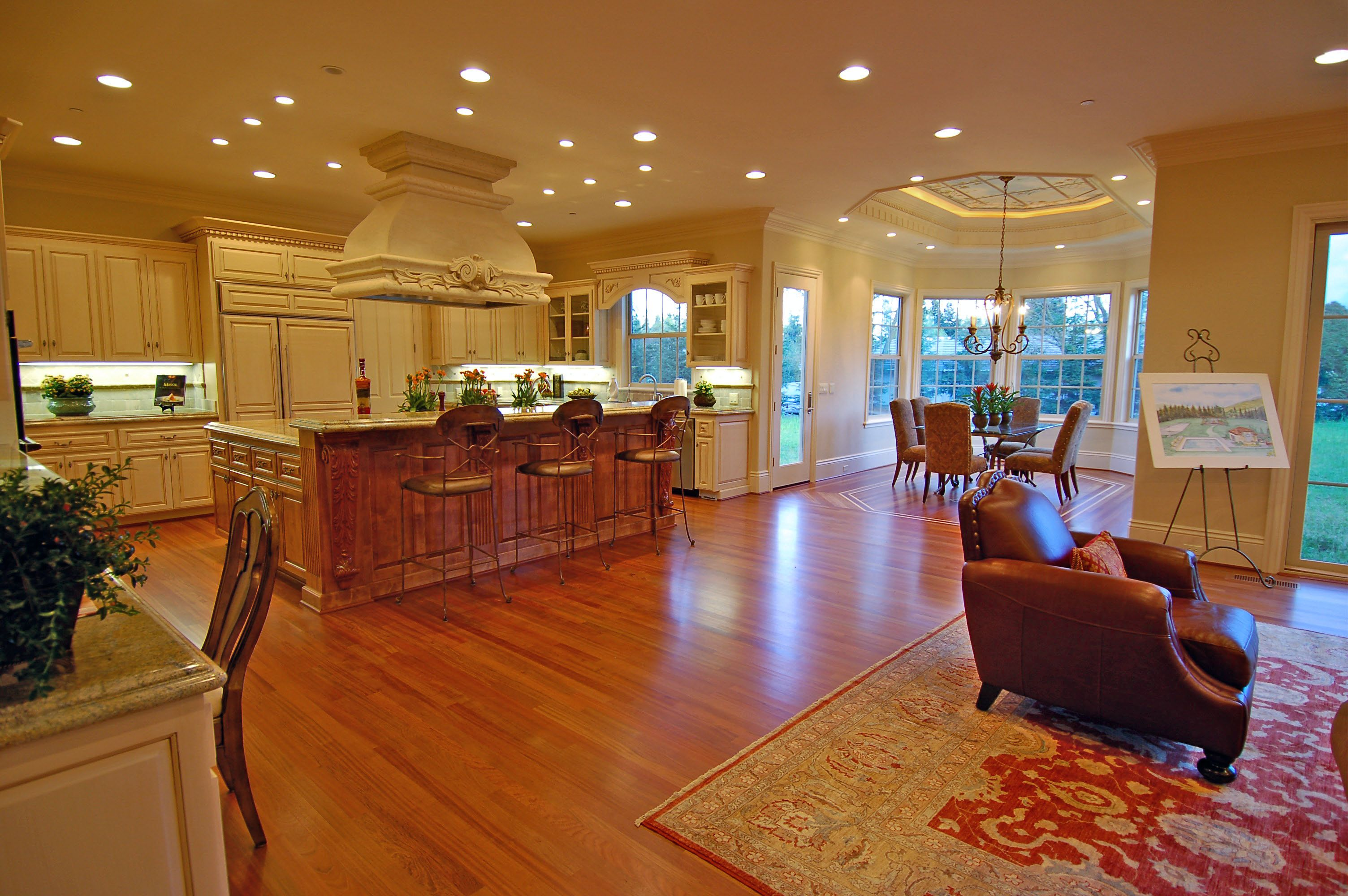 Home Stratosphere Luxury Kitchen Designs With Breakfast Nooks New Homes Guest Pavillions Pool Cabanas Models