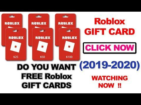 Free Roblox Gift Card Codes