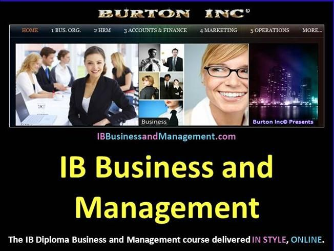 IB Business and Management Operations Management - Break-Even - break even analysis