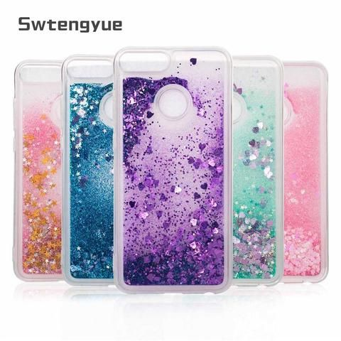For Huawei honor 9 lite case Dynamic Liquid Glitter Bling Sand Soft TPU  Phone case For Huawei honor 9 lite case cover 8cdf42ed0378