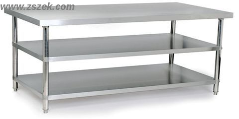 Adjustable Height Commerical Stainless Steel Work Table W 3 Layers Manufacturer From Zhongshan China Stainless Steel Work Table Work Table Table
