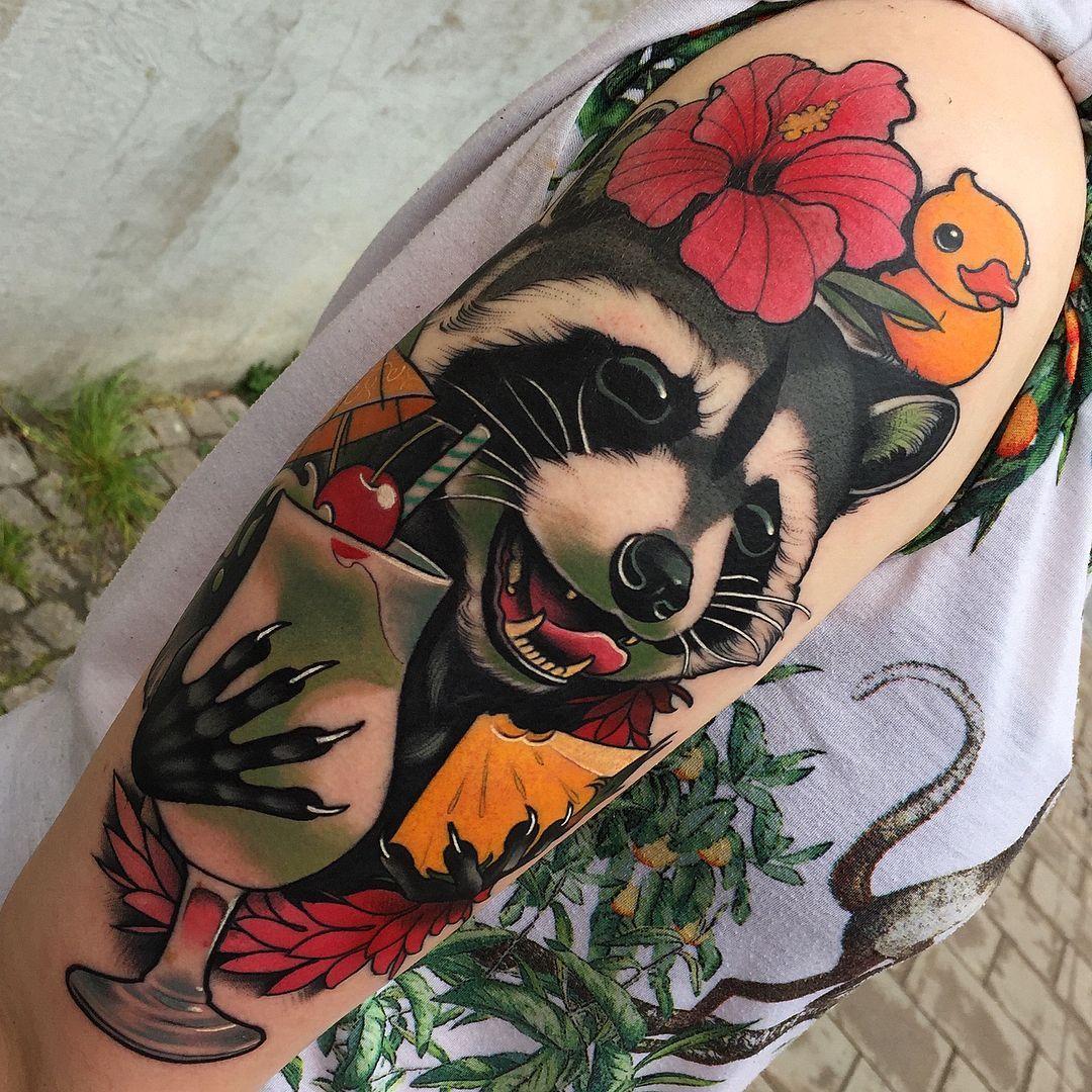 Neo Traditional Tattoos - Tattoo Insider - Neo Traditional Tattoos – Tattoo Insider | black neo traditional tattoo