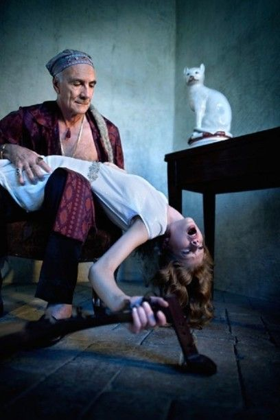 Homage at Balthus © Marco Sanges