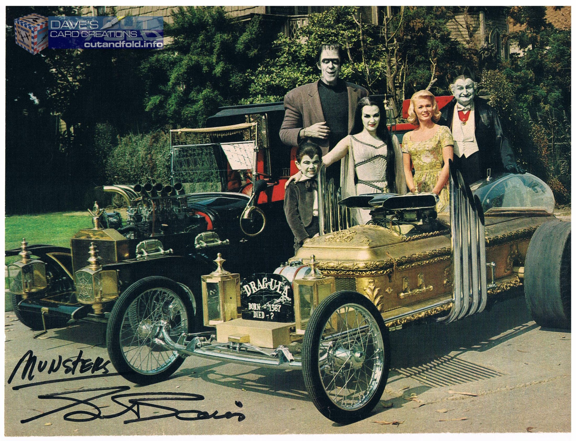 One of the autos I got back when I met George Barris in 2002