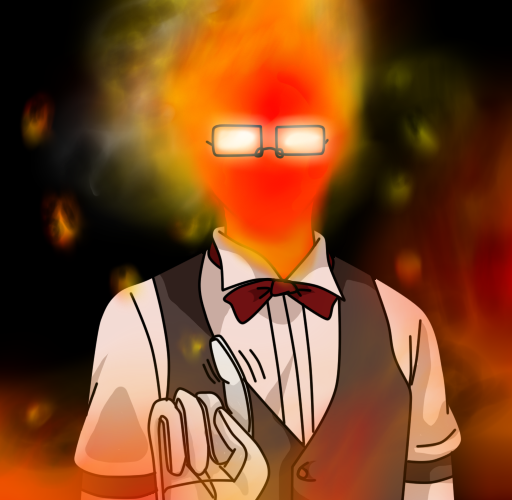 Undertale: Grillby by AvionVadion2 on DeviantArt