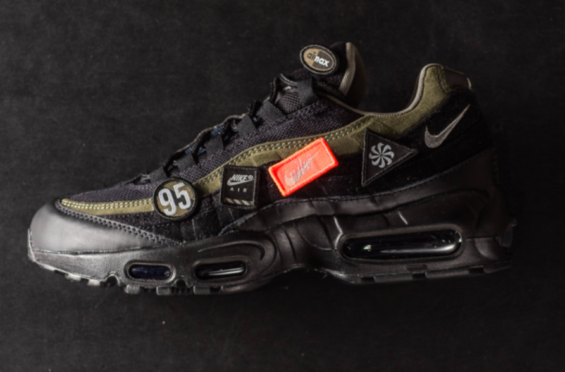 8ee85217c5c Get The Nike Air Max 95 HAL Cargo Khaki Now This latest Nike Air Max 95