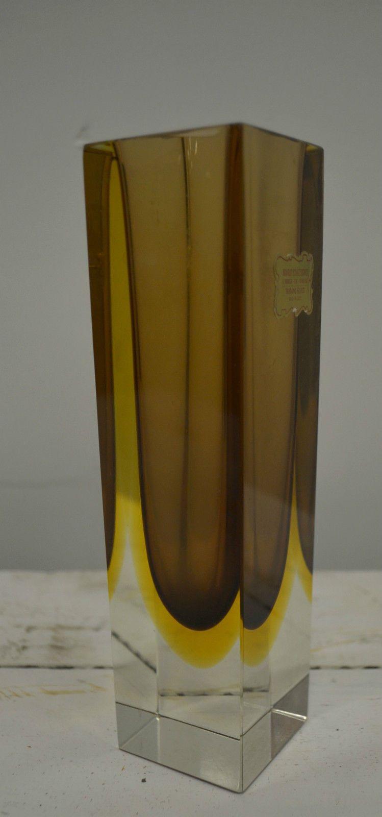 Original label vintage murano mario sanzogno art glass vase ebay original label vintage murano mario sanzogno art glass vase ebay floridaeventfo Images