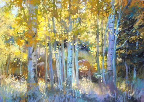 26 Pastel Society Of America Debrosky Art Painting Tree Art Pastel Art