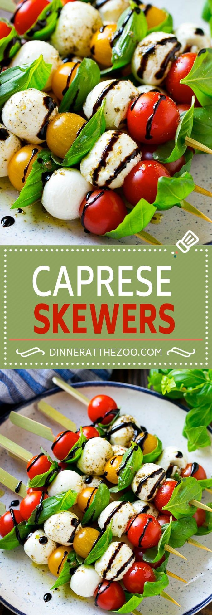 Caprese Skewers   Caprese Kabobs   Caprese Appetizer #rezepte #recipe #girlsnight #ladiesnight #maedelsabend #snack #fingerfood  #party #spiess #sticks #fingerfoodpartyappetizers