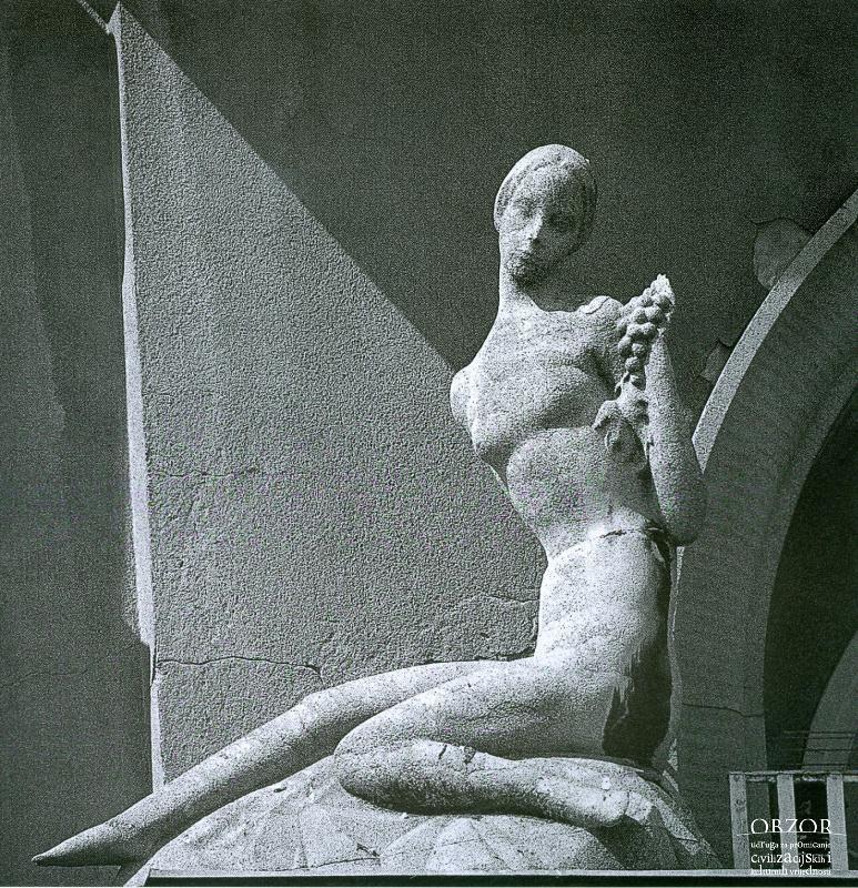 Trg Hrvatskih Velikana 2 1995 Lokacija Donji Grad Centar Zagreb Greek Statue Statue
