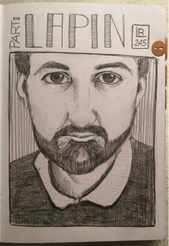 Saxony Art: day 076 - draw the teacher