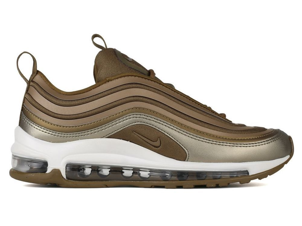 New Women's NIKE W Air Max 97 UL '17 Running Sneaker - 917704 901 Brown