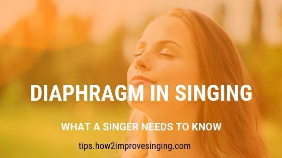 Diaphragm in Singing: What a Singer Needs to Know #howtosing Learn how to use your diaphragm in singing and how to know if you are using it correctly. #howtosing