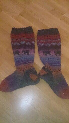Pakkaspäivän sukat