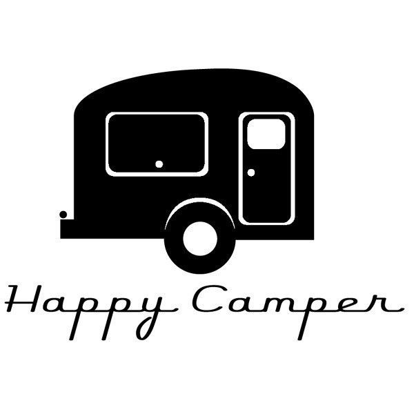 Happy Camper Vinyl Decal 1000 Via EtsyRepin ByPinterest For IPad