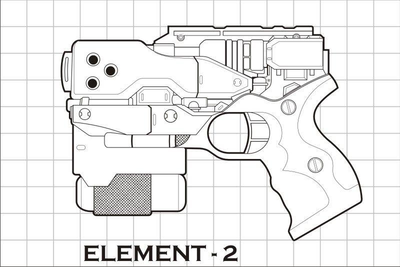 Nerf Gun Props? YES! - Page 56 | คาวาอี | Pinterest