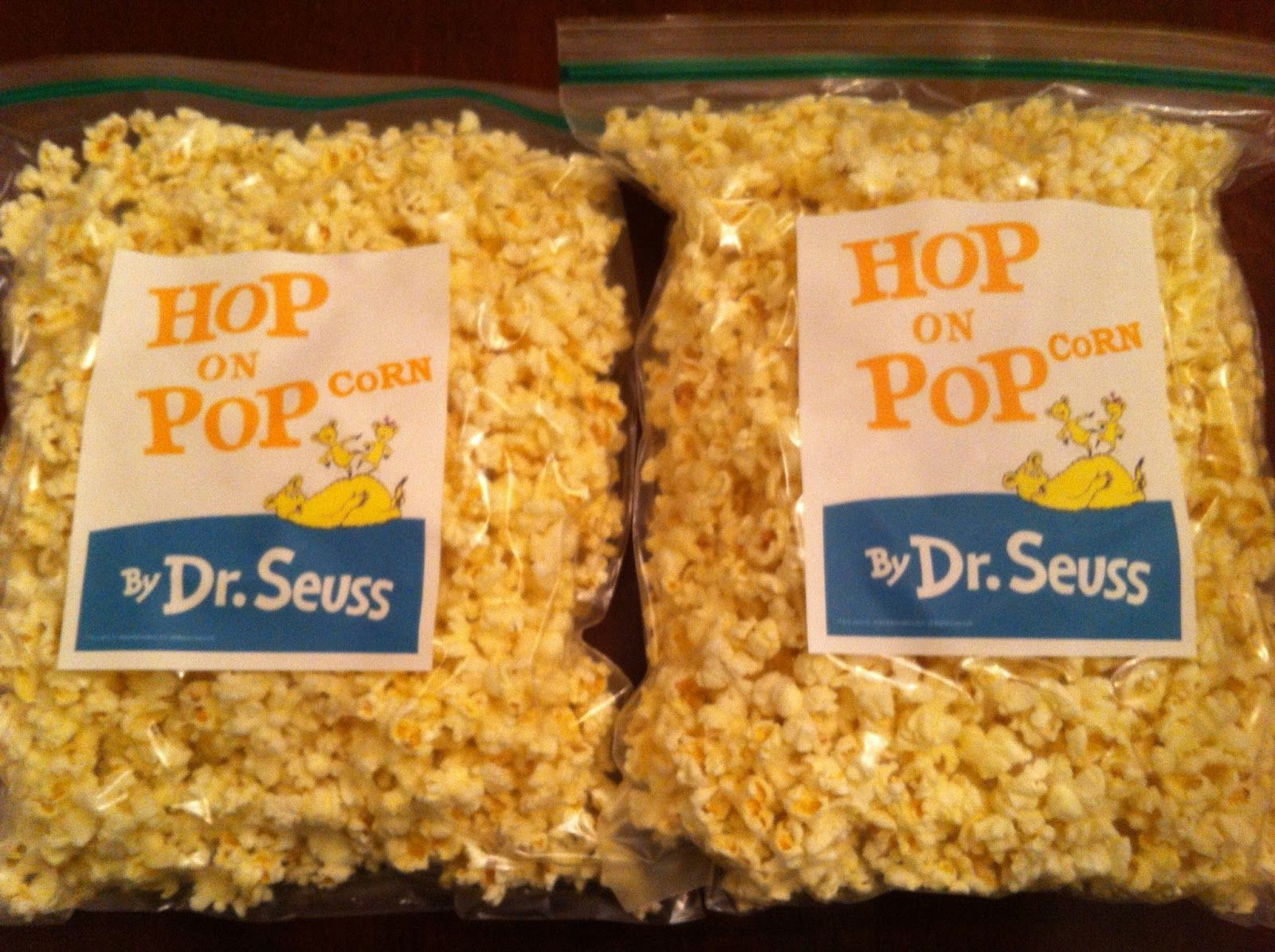 Dr Seuss Day Snack