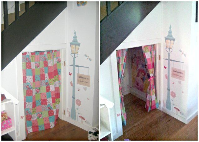Under Stairs Cubby House Convert The Space Into A Cosy Area For