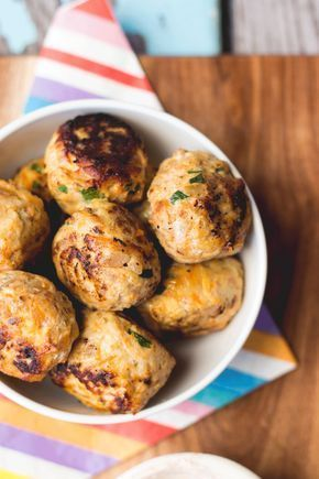 Fruity Chicken Balls Are A Great Finger Food For Kids Of All Ages