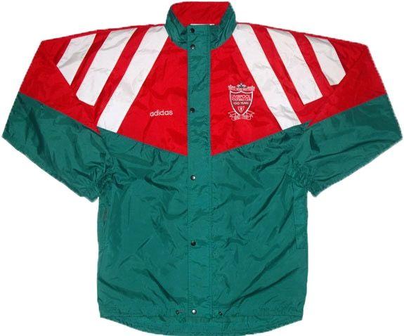 7080c7730a2 1992-93 Liverpool Adidas Centenary Rain Jacket L