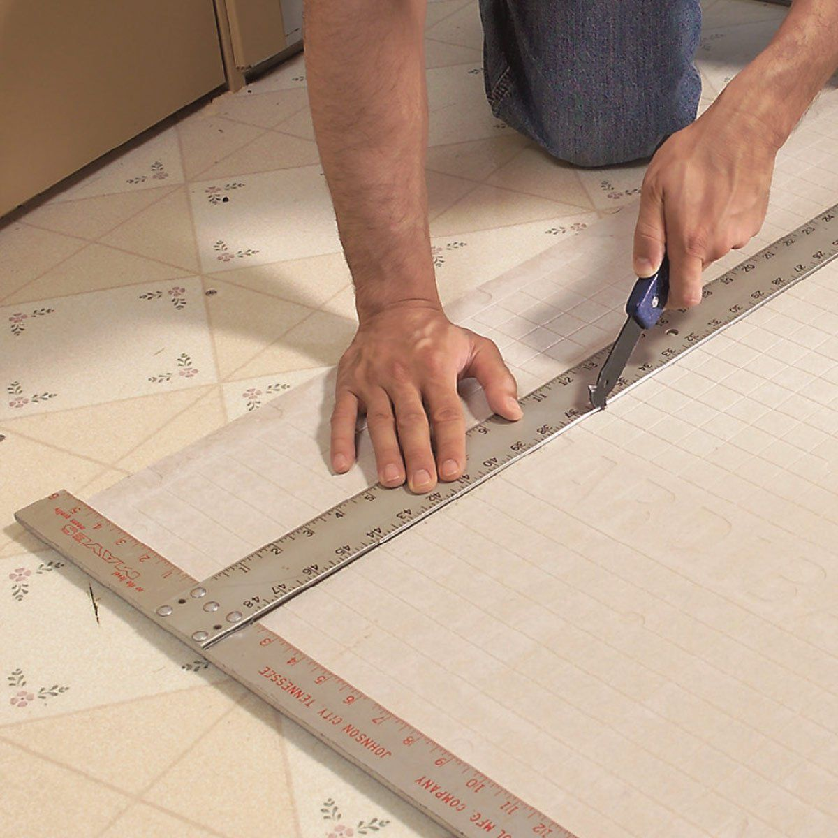 How To Install Ceramic Tile Floor In The Bathroom Ceramic Floor Tiles Installing Tile Floor Tile Installation