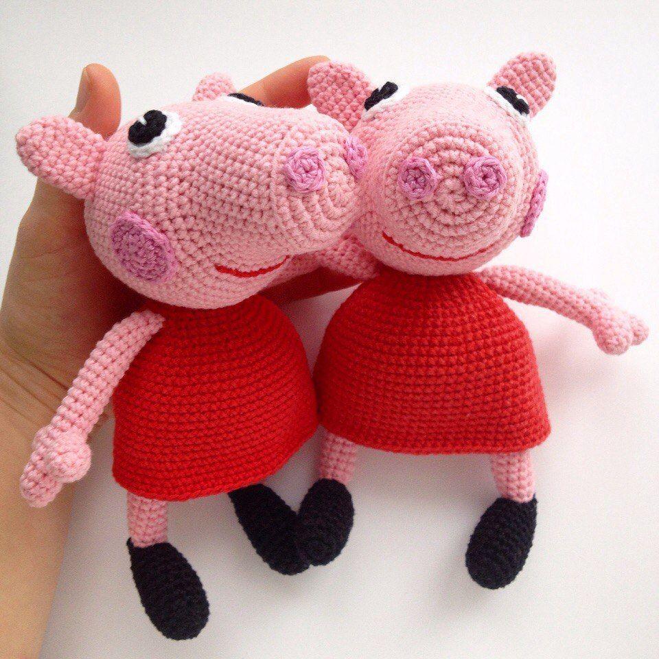 Peppa Pig Free Crochet Pattern Crochet Croché Ganchillo Patrones