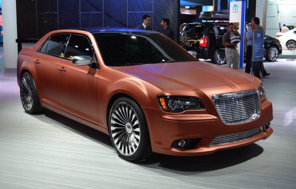 Chrysler 300 Turbine Concept in Matte Bronze Chrysler