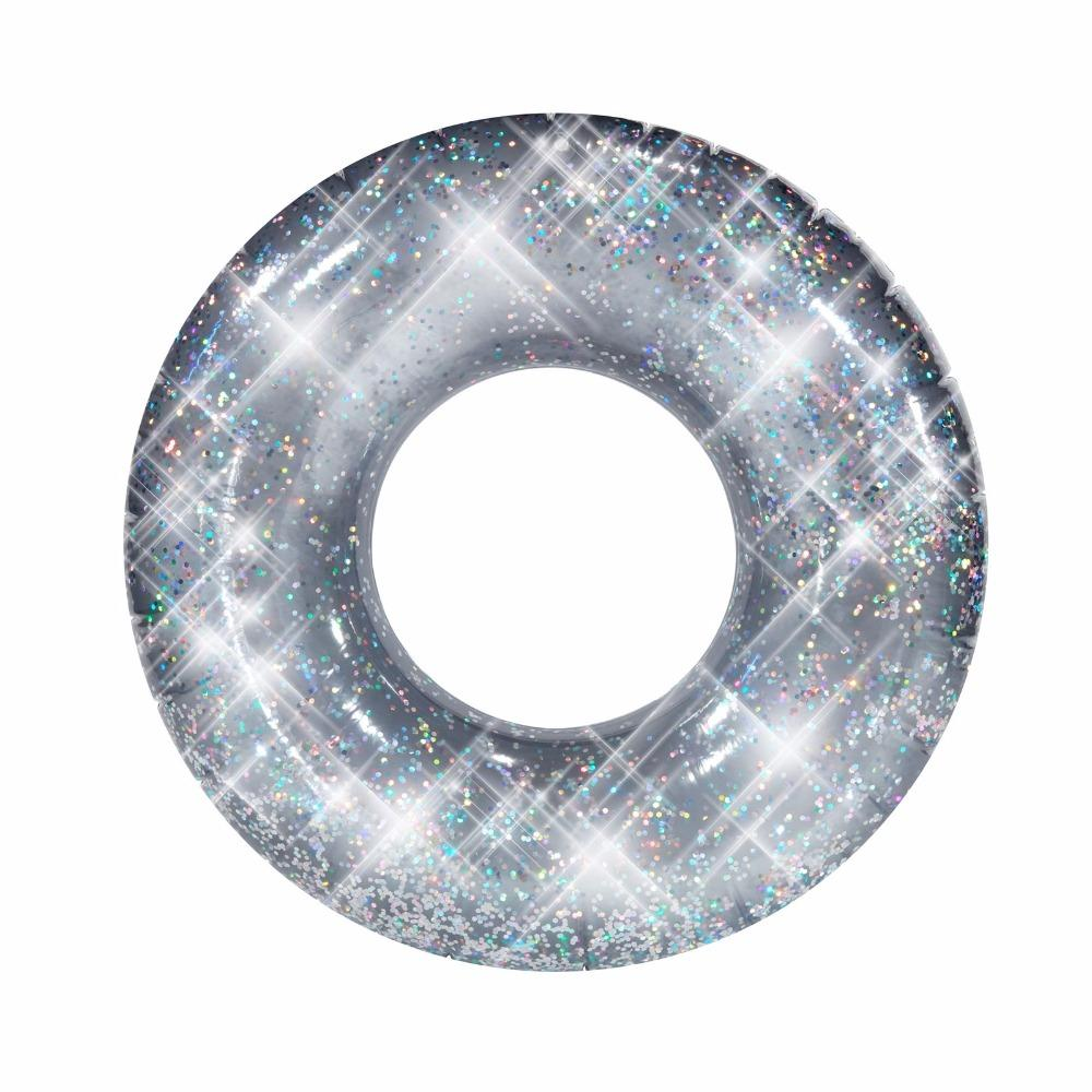 Icti Factory Inflatable Pool Swimming Ring With Glitter For Summer View Hot Sale Pvc Inflatable Swim Tube For Summer Sunsports Product Details From New Time P Inflatable Pool Floats Inflatable Pool