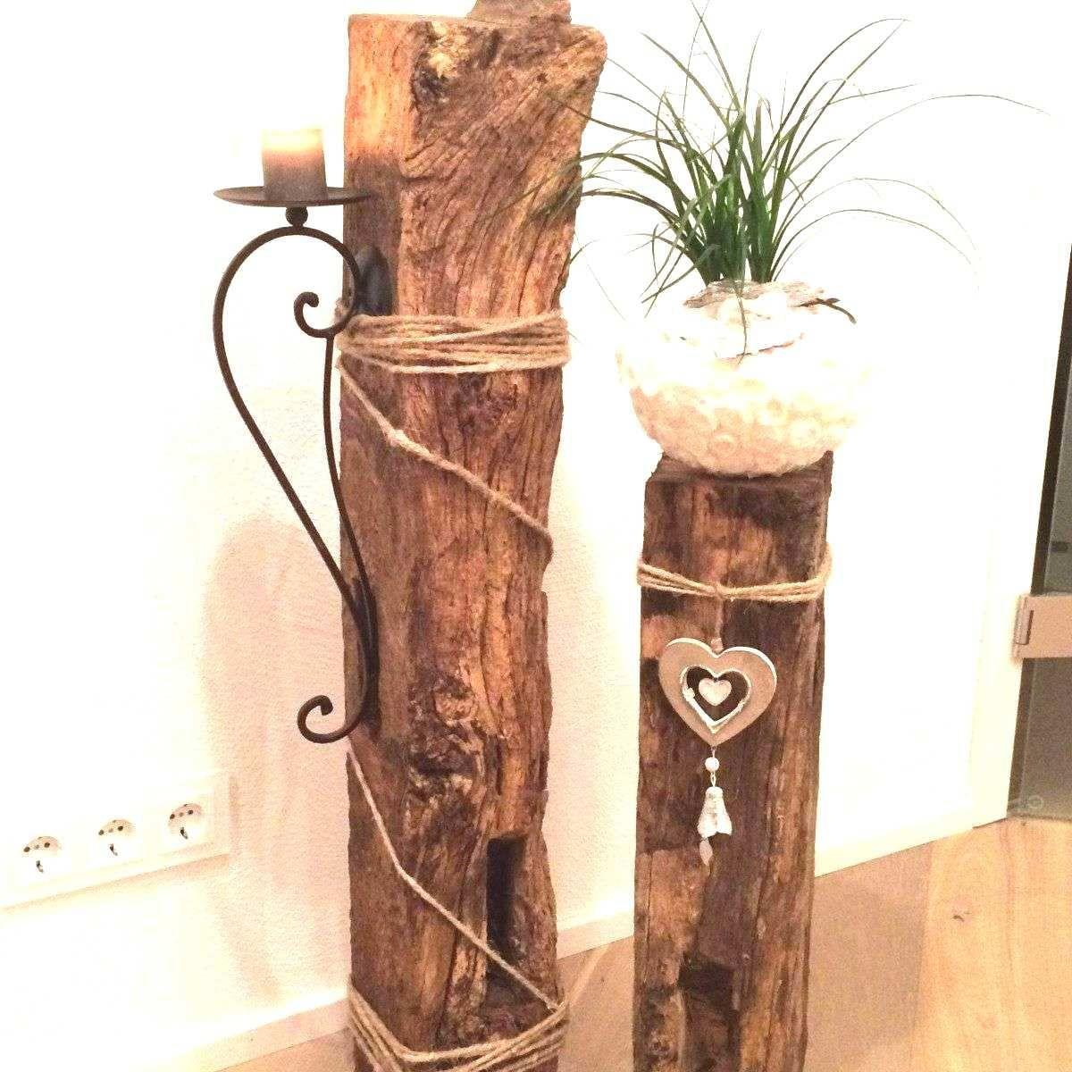8 Genial Baumstumpf Deko Ideen in 8  Baumstamm deko, Selber