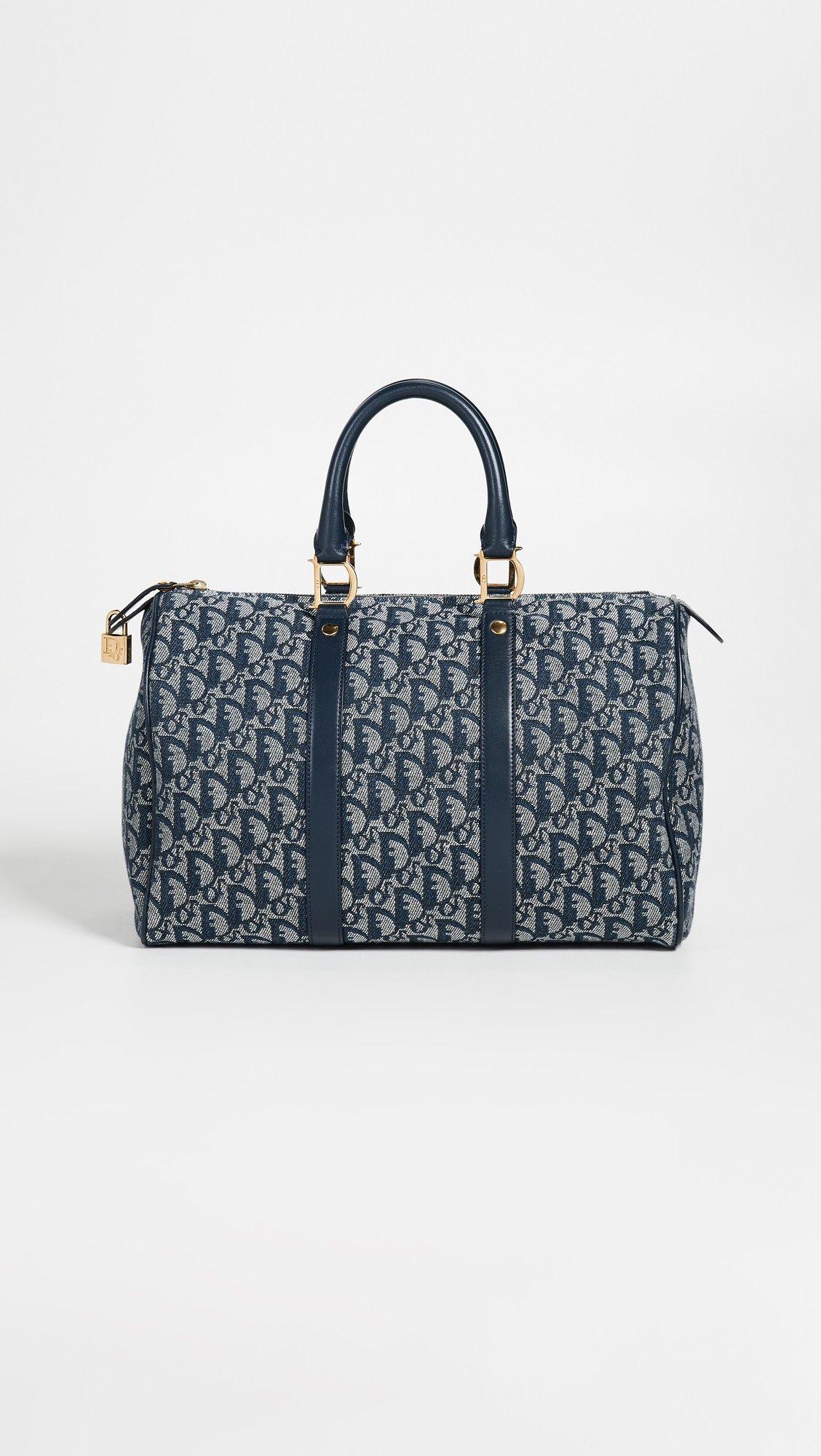 e6eff5e9ab04 What Goes Around Comes Around Dior Canvas Boston Duffel Bag