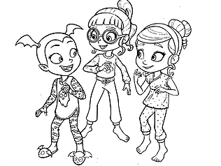 Coloring Pages For Kids Vampirina Vampirina Is A Children S Animated Computer Animated Musical T Disney Coloring Pages Coloring Pages Halloween Coloring Pages