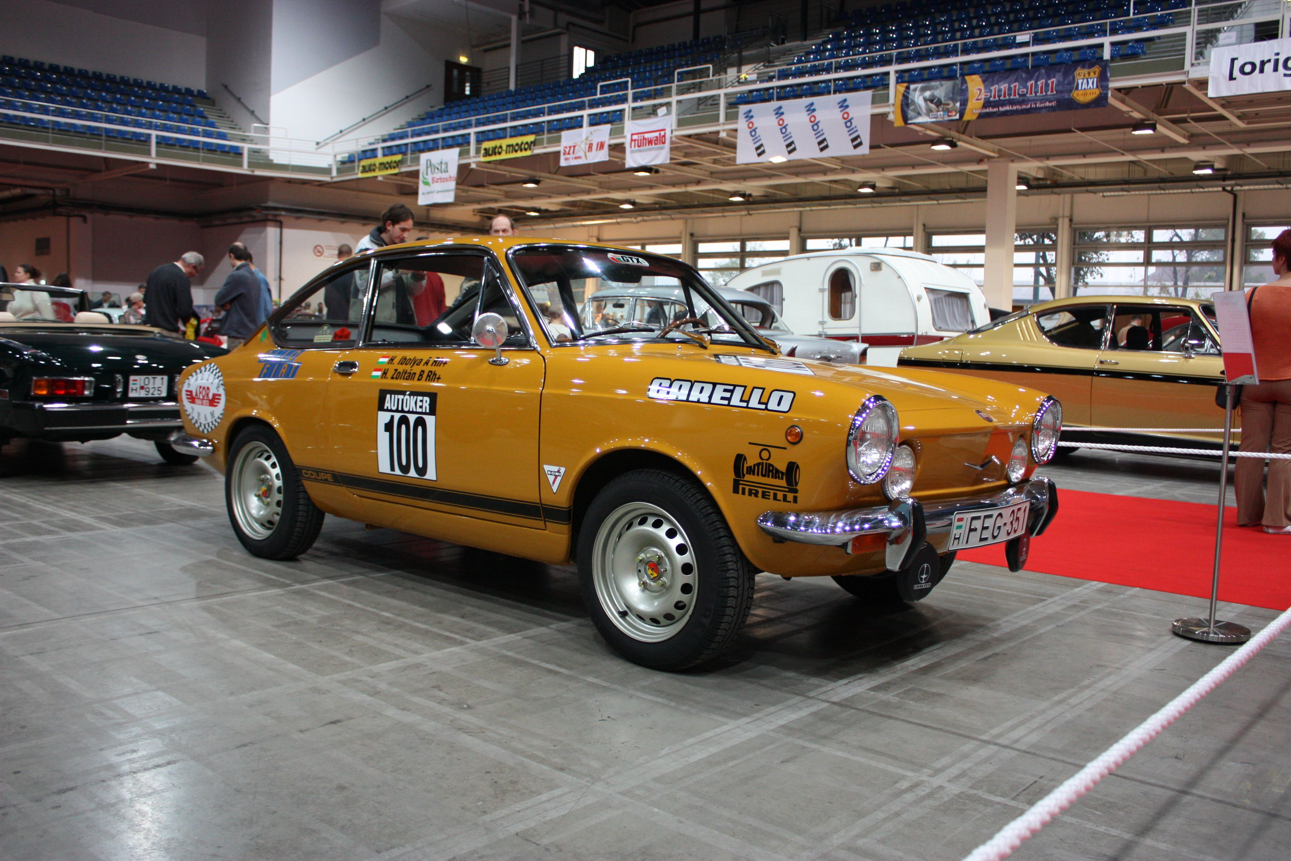 1968 Fiat 850 850 Special With Roulotte Fiat 850 Simca Roulotte