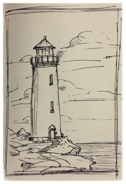 Pin By Beronkenstein On Draws Drawing Scenery Landscape Pencil Drawings Landscape Drawings