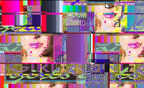 "Lindsay Lohan ""Girls, Girls, Girls"" Gone Glitch Glitch Glitched † #glitch #art #glitchart #glitched #digitalart #collage #corrupt #corrupted #imagery #portrait #colorful #pixelated #LiLo #Lindsay #LindsayLohan"