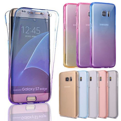 info for 36f98 d8e52 $4.99 - Tpu Soft Clear Gel Front And Back Case Cover For Samsung ...