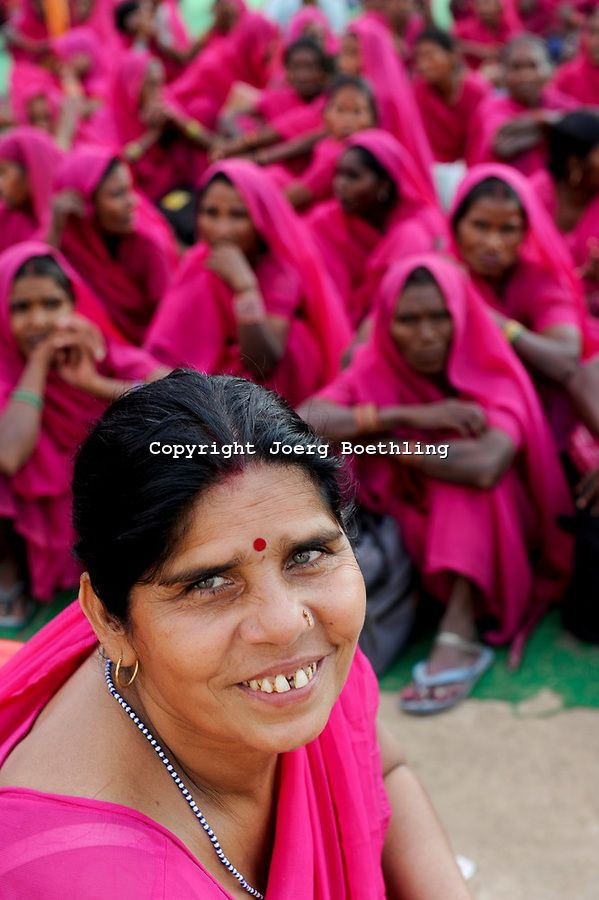 "Fed up with abusive husbands and corrupt officials, India's poorest women dressed in pink saris are banding together to fight corruption and injustice and to raise their voices against the system.The Gulabi or ""Pink Gang"" fights for the rights of women and other marginalized people in rural India."