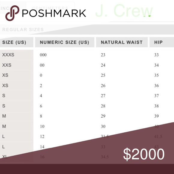 crew size chart find the that best fits you tops also rh ar pinterest