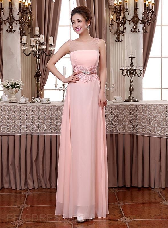 Pretty Scoop A-Line Beading Lace Bridesmaid Dresses Bridesmaid Dresses 2014- ericdress.com 10985358