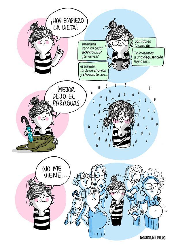 Agustina Guerrero Diario De Una Volatil Decir Diario De Una Volatil Guerreros Humor Grafico