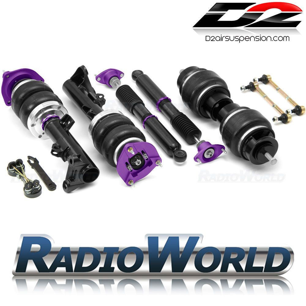 Bmw 5 Series F10 2010 D2 Racing Air Suspension Front Rear