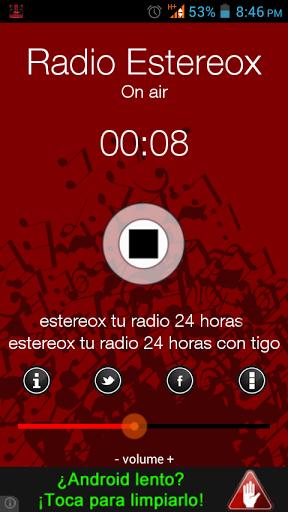 Colocamos la música que a ti te gusta las 24 horas del dia  musica variada la radio se llama estereox es de panama  http://Mobogenie.com