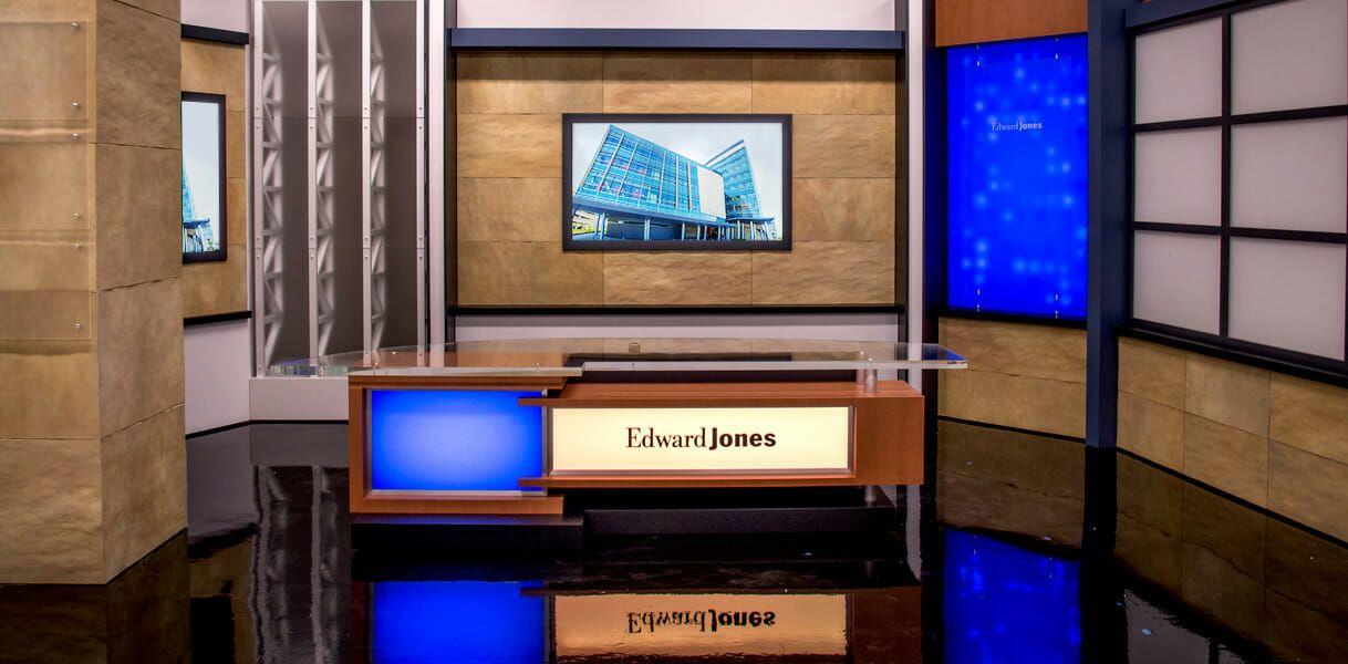 Edward Jones Erector Set Tv Set Design Studio Background