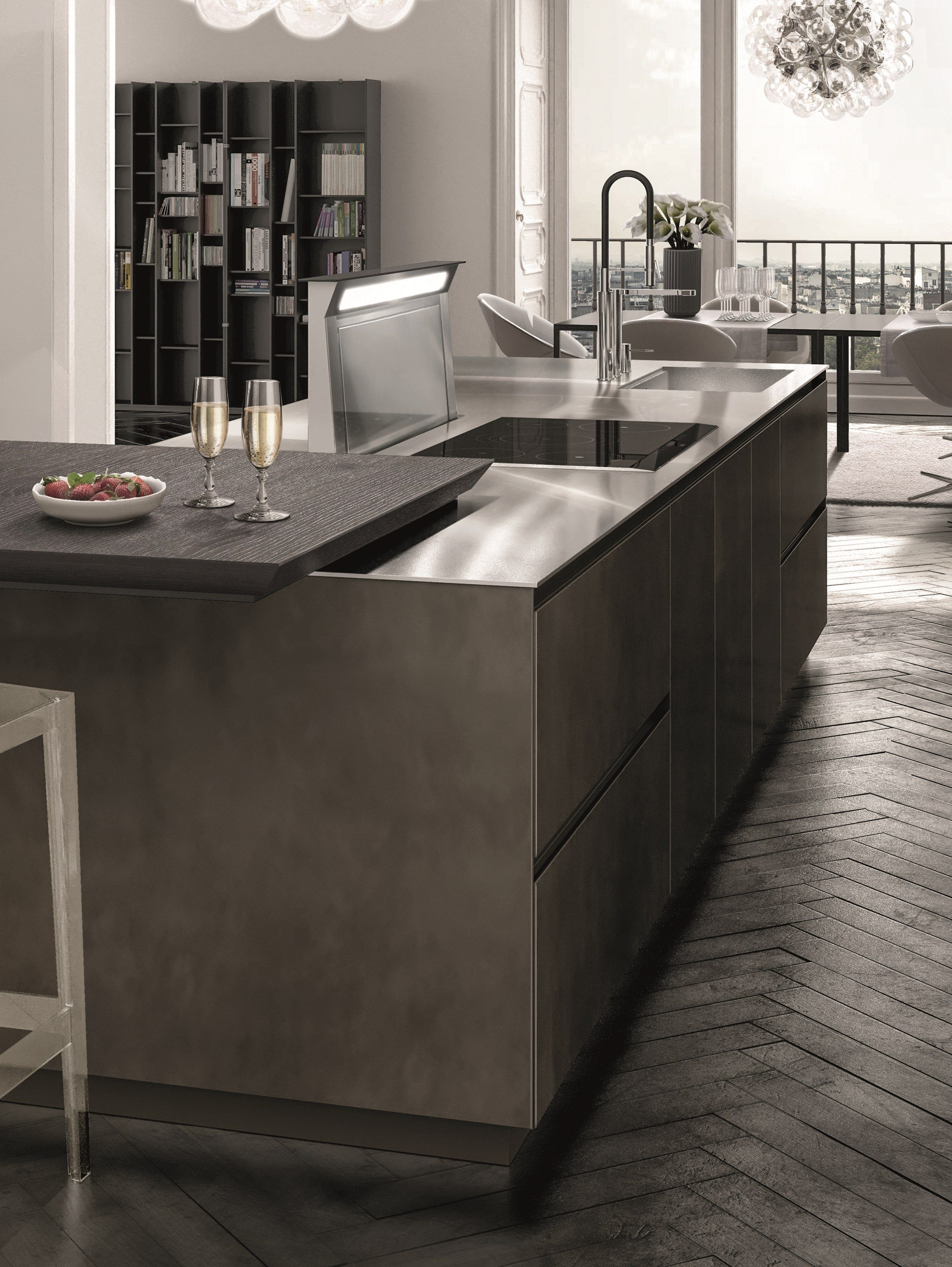 fusion antis euromobil. Lacquered Fitted Kitchen ANTIS FUSION By Euromobil Design Roberto Gobbo Fusion Antis S