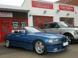 SMG! No Go 1998 M3 Evo Conv FSH 77K £3774  Sentry Auto sales Leicester LE4 6GD  60 Miles from Stafford