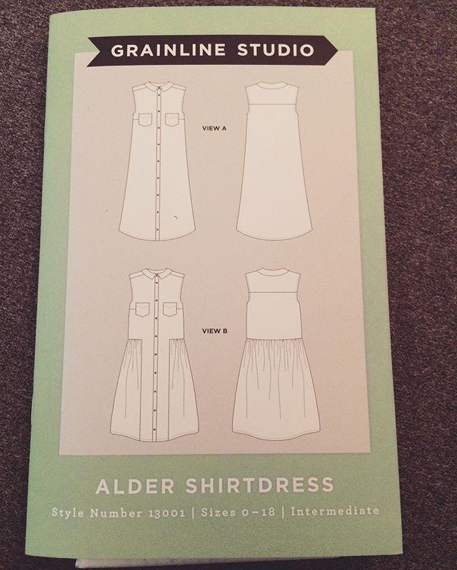 Done with winter; time to sew a sundress #alder #aldershirtdress #grainlinestudio #memade #diyclothes #diy #diystyle #isewmyownclothes #dressmaker #sewing #slowfashion #slowsewing #shirtdress #isewdressmaker,diyclothes,sewing,alder,aldershirtdress,memade,grainlinestudio,shirtdress,slowsewing,diy,isew,slowfashion,isewmyownclothes,diystylejordannicolereid