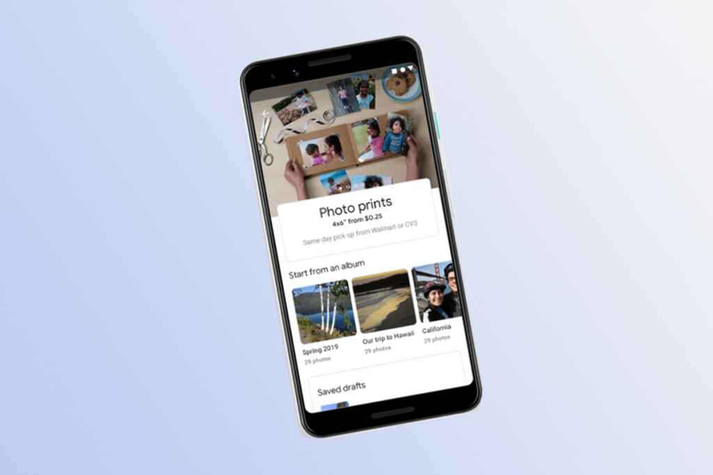 Google Photos now lets you order prints of your snaps